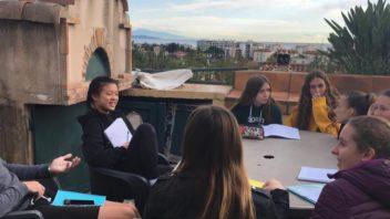 Rencontre avec des élèves anglophones