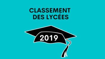 Classement 2020 des meilleurs lycées