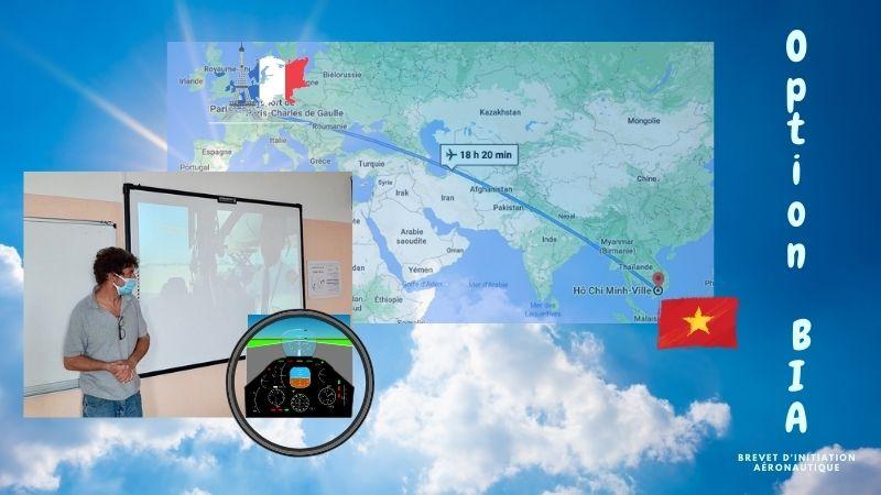 Option BIA : vol de Paris à Hô Chi Minh Ville